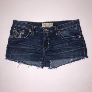 Big Star Miki Cutoff Distressed Jean Shorts